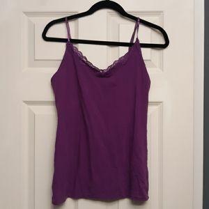 Purple lace Cami